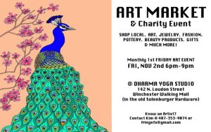 Art Market & Charity Event on The Winchester Walking Mall